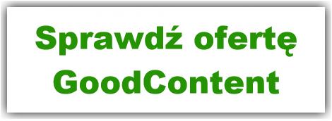 GoodContent - aktualna oferta
