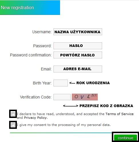 Neobux - rejestracja